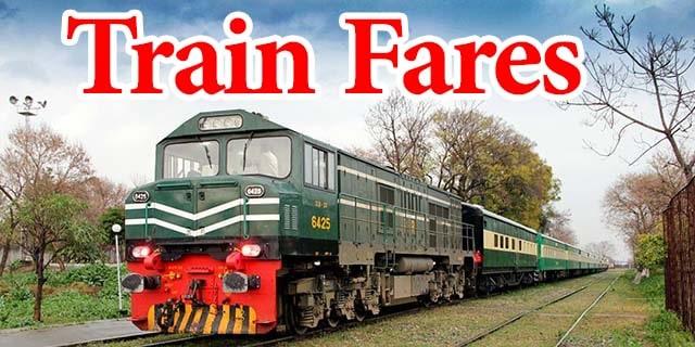 pakistan railways fares